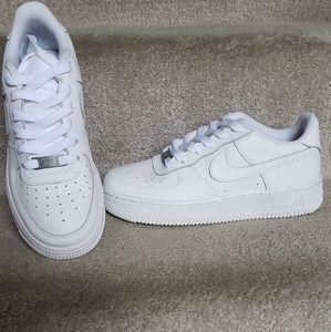Nike Air Force 1 (GS) White/White-White Sz.4Y=Wmns